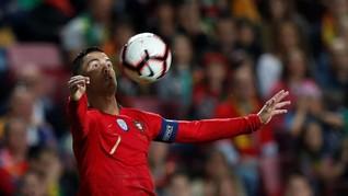 Pelatih Timnas Portugal Enggan Salahkan Ronaldo