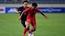 Timnas Indonesia U-23 Unggul 1-0 Atas Iran di Babak Pertama