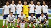 Timnas Inggris menjamu Republik Ceko pada laga pertama Grup A Kualifikasi Piala Eropa 2020 di Stadion Wembley, London, Jumat (22/3) malam waktu setempat.(Reuters/Carl Recine)
