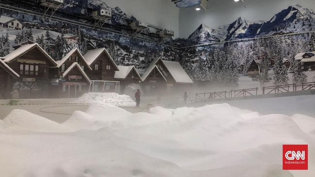 Wisata Salju Pertama di Indonesia Ada di Bekasi