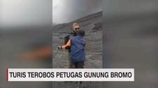 Heboh Turis Asing Banting Petugas Gunung Bromo
