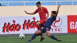 FOTO: Timnas Indonesia U-23 Dihajar Thailand 0-4