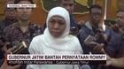 Gubernur Jatim Khofifah Bantah Pernyataan Rommy