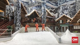 Tips Bermain Ski Asyik di Tengah Salju Bekasi