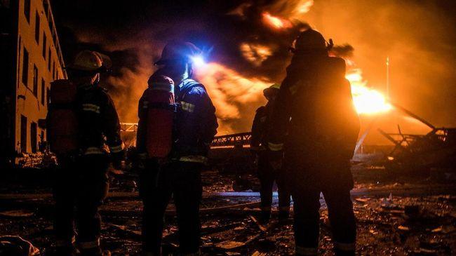 Ledakan Pabrik Terjadi Lagi di China, Tujuh Orang Tewas