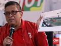 Hasto Sindir Elektabilitas Prabowo yang Tak Naik Signifikan