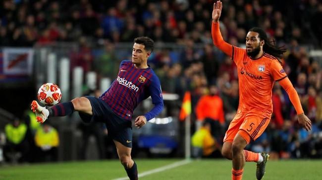 Barcelona dikabarkan ESPN siap melepas Philippe Coutinho jika ada klub yang siap mengeluarkan £90 juta. (REUTERS/Susana Vera)