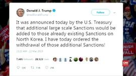 VIDEO: Trump Mendadak Batalkan Sanksi untuk Korea Utara
