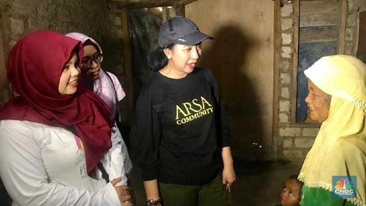 Anita Ratnasari Tanjung mengatakan CT Arsa Foundation didirikan dengan tujuan memutus mata rantai kemiskinan melalui pendidikan.