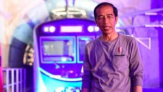 Jokowi Klaim Masyarakat Masih Ingin Pembangunan Infrastruktur