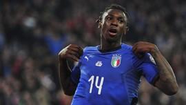 Curi Ilmu Ronaldo, Kean Cetak Gol di Timnas Italia