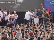 Di Peresmian MRT Jakarta, Jokowi & Ribuan Warga Desak-desakan