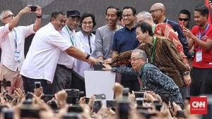 Jokowi: Kehadiran MRT Jadi Tanda Peradaban Baru