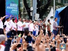 Pesan Jokowi untuk Pengguna MRT: Antre dan Disiplin!