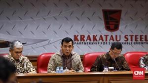 Krakatau Steel Konsultasi Nasib Direktur dengan Menteri Rini