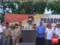 Orasi Kampanye, Prabowo Tepis Tudingan Islam Radikal