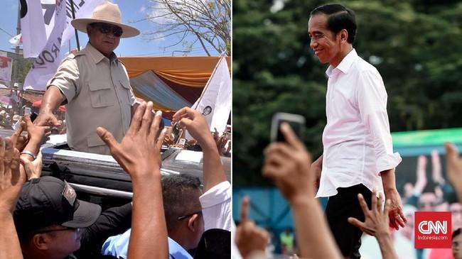 FOTO: Kampanye Terbuka Perdana Jokowi dan Prabowo