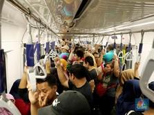 LRT Palembang Sepi Penumpang, Bagaimana dengan MRT Jakarta?