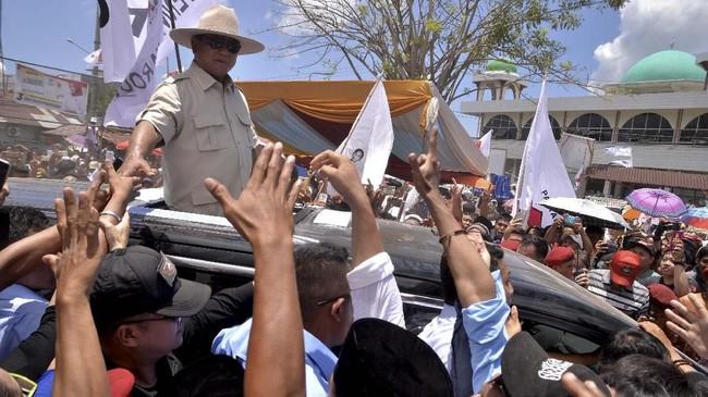 Komisi Pemilihan Umum (KPU) menetapkan jadwal kampanye rapat umum atau terbuka selama 24 Maret hingga 13 April. Setelah itu, masa tenang berlangsung hingga hari pencoblosan pada 17 April. ANTARA FOTO/Adwit B Pramono