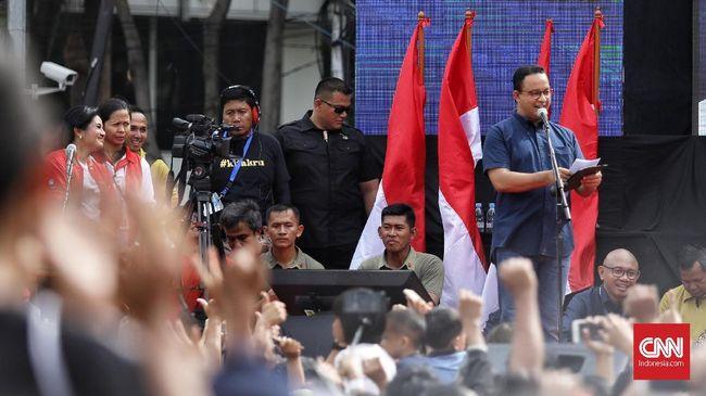 Anies Sebut MRT Jakarta Serap 253 Ribu Pekerja