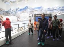 Bawa Jaket Tebal! Trans Snow World Sedingin Pegunungan Alpen