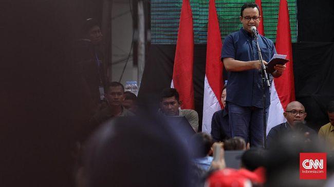 Anies Singgung Ahok saat Resmikan MRT, Warga Jakarta Bersorak