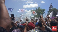 Prabowo Redam Massa yang Gaduh: Kalian yang Bicara atau Saya?