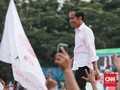 Jokowi Sebut Target Suara Nasional antara 58-62 Persen