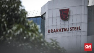 Tolak PHK PT Krakatau Steel, Ribuan Buruh Demo di Cilegon
