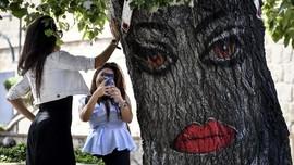FOTO : Pelesir di Negara Api, Azerbaijan