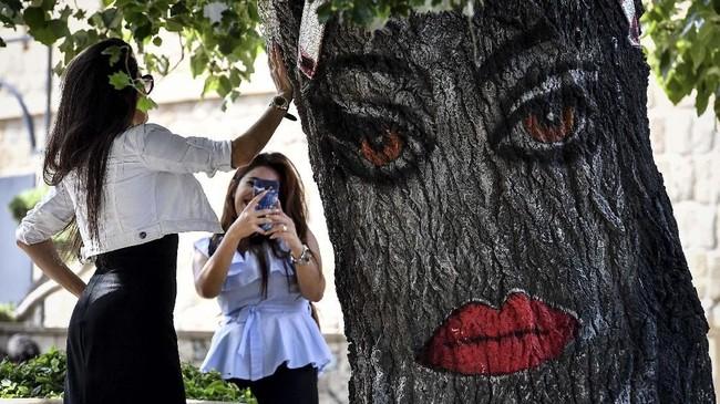 Lewatacara-acara bergengsi tersebut, diperkirakan industri pariwisata Azerbaijan akan turut menerima dampak baiknya. (Mladen ANTONOV / AFP)