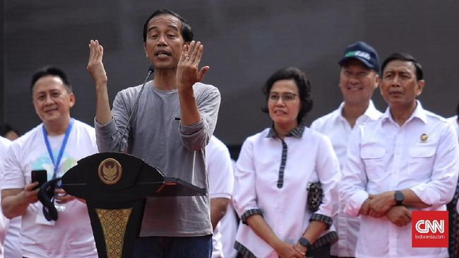 Jokowi soal Survei Didukung FPI: Alhamdulillah