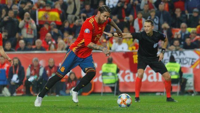 Hasil Kualifikasi Piala Eropa: Spanyol dan Italia Menang