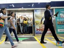 Perhatian! Stasiun MRT Bundaran HI Ditutup Karena Demo 22 Mei