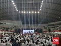 Kampanye di Malang, Jokowi Serukan Salam Satu Jiwa Arema