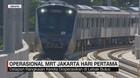 Operasional MRT Jakarta Hari Pertama