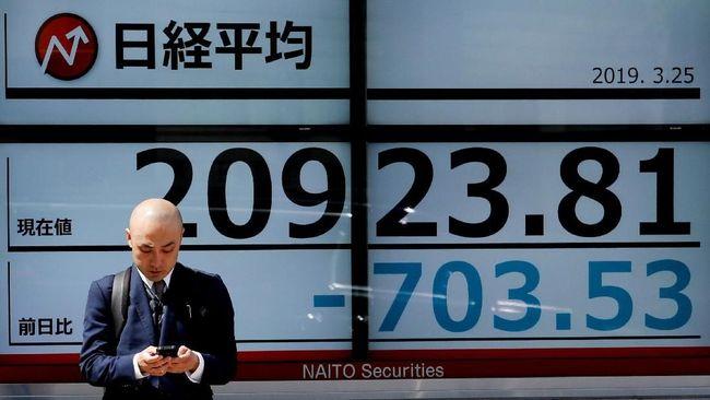Walau Indeks Shanghai Anjlok, Bursa Saham Asia Tetap Hijau