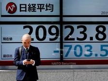 Perang Dagang hingga Data Ekonomi Rontokkan Bursa Saham Asia