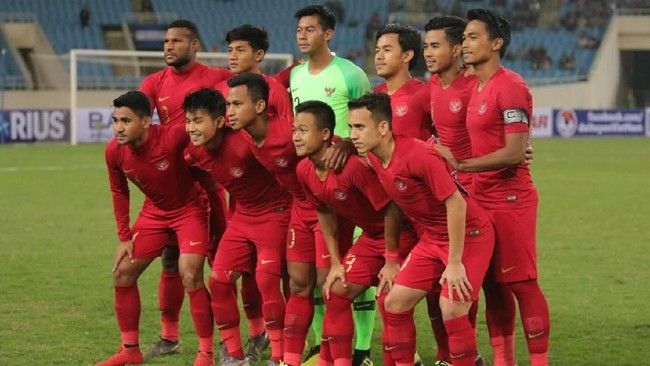Pelatih Indra Sjafri melakukan perubahan signifikan pada susunan pemain Timnas Indonesia U-23 saat melawan Vietnam termasuk mengganti dua bek tengah. (Dok. PSSI)