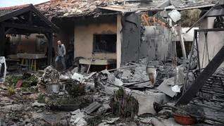 Israel Tuduh Hamas Dalang Serangan Roket ke Tel Aviv