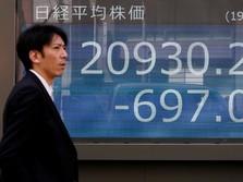 Bursa Jepang Terpukul Aksi Ambil Untung