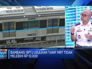 BPTJ: MRT Fase 1, 2 & 3 Bisa Angkut 400 Ribu Penumpang