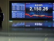 AS-China Tak Ada Tanda Damai, Bursa Asia Ditutup Bervariatif