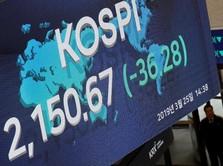 Bursa Asia Masih Redup, Kospi Menguat Sendirian karena Trump