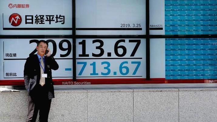 Bursa Tokyo dibuka di teritori positif pada perdagangan Jumat (12/7/2019).