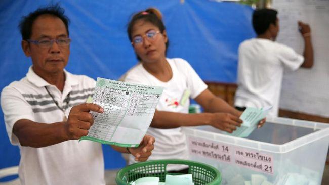 Pemantau Sebut Pemilu Thailand Untungkan Junta Militer