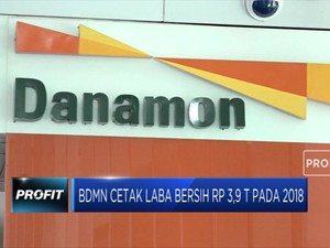 Bank Danamon Cetak Laba Bersih Rp 3,9 T pada 2018
