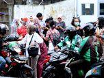 Menkes Setuju PSBB Jakarta, Grab & Gojek Setop Bawa Penumpang