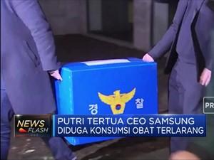 Putri CEO Samsung Diduga Konsumsi Obat Terlarang