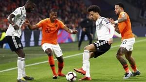 FOTO: Laga Seru Timnas Jerman Kalahkan Belanda 3-2